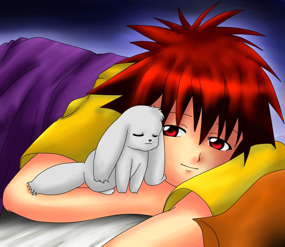 Daisuke and Wiff by Ninjagirl-Ayame17