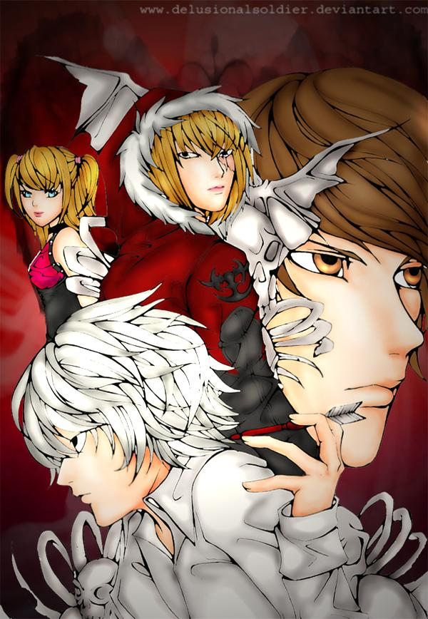 Death Note_recolored_ by delusionalsoldier