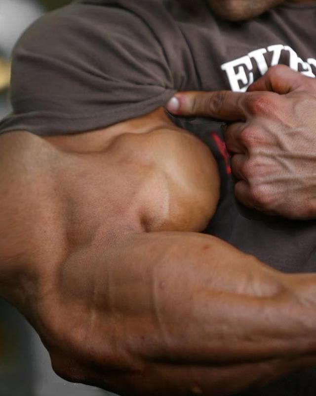 Flexing Big Muscles - Bing images