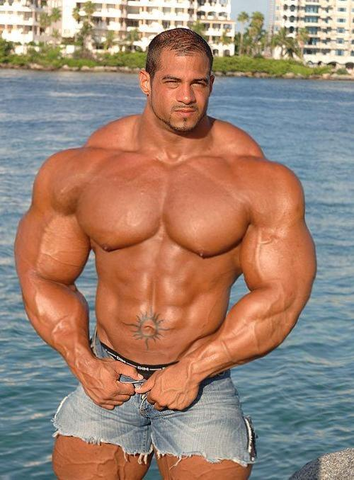 image Real of huge men outdoors naked gay