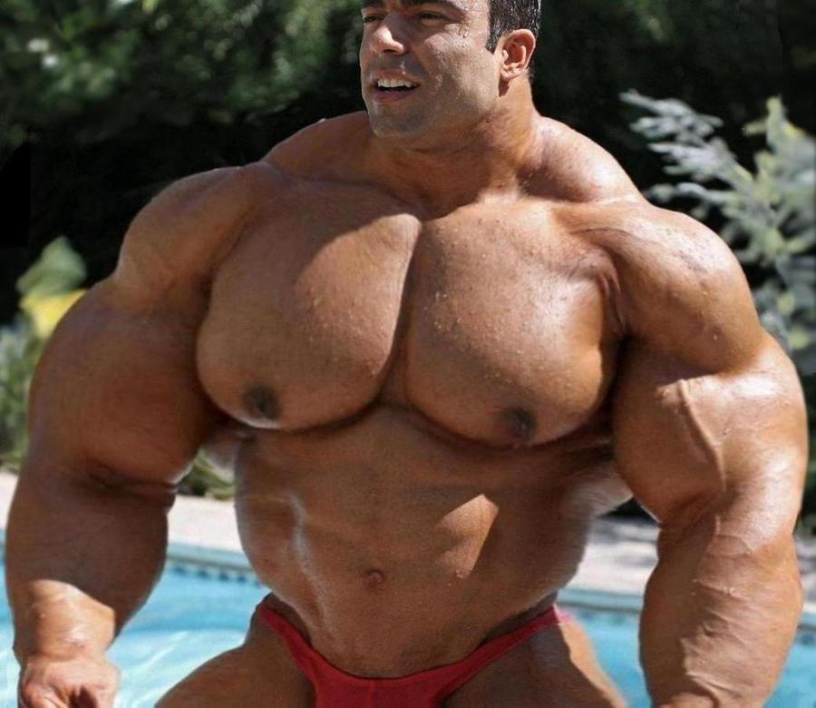 Big with pecs men hot