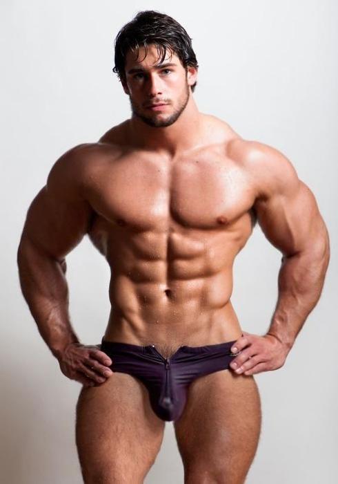 Muscular Hunk by n-o-n-a-m-e on DeviantArt