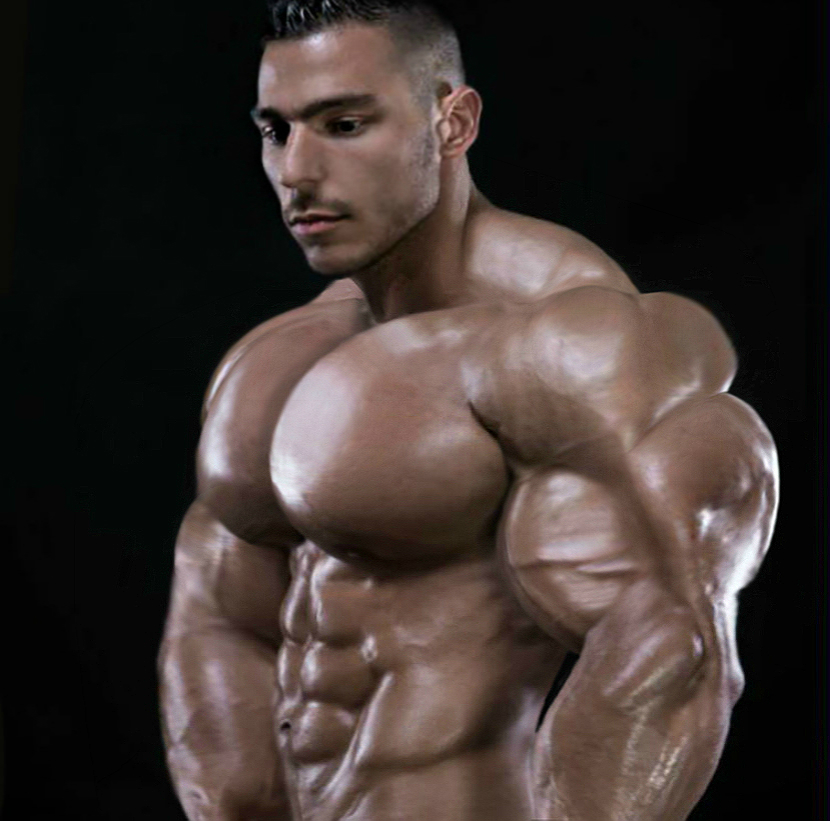 Pensive Muscle (Hardtrainer Tribute) by n-o-n-a-m-e