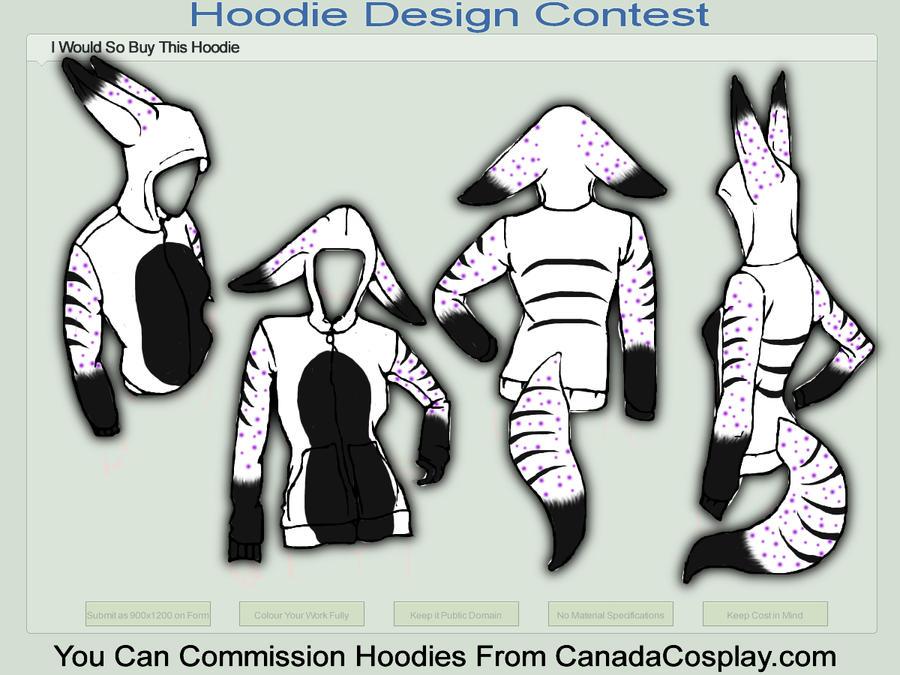 my fursona hoodie design by kassihinken on deviantart