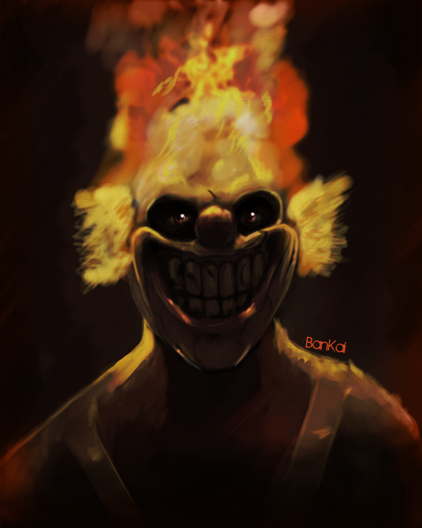 Sweet tooth quicky by diablo123456 on deviantart - Sweet tooth wallpaper twisted metal ...