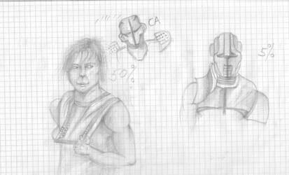 Luke Skywalker drawing by DIABLO123456