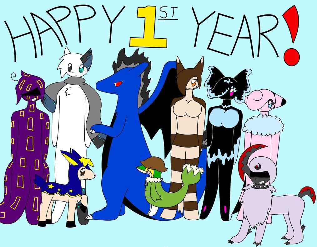Happy First Year! by XDTheServine