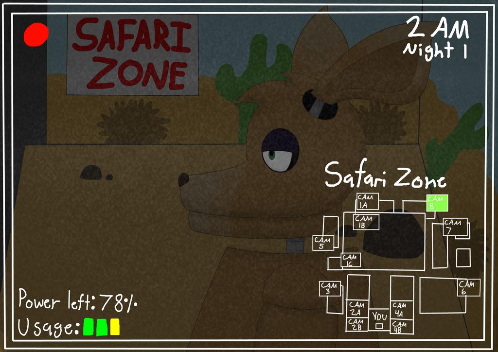 FNaF: Camera 8 - Safari Zone by XDTheSnivy