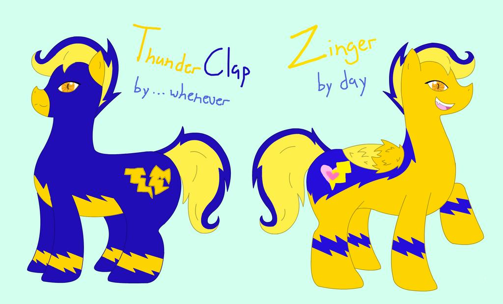 Zinger a.k.a ThunderClap by XDTheSnivy