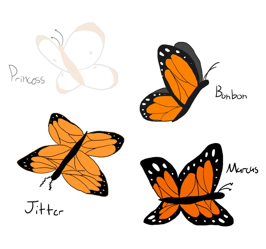 The Butterflies by XDTheSnivy