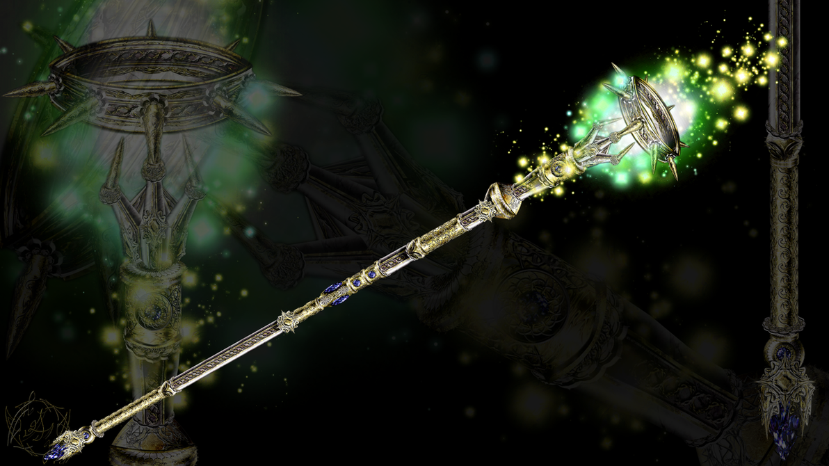 World of WarCraft - Staff of Metanoia by Ahakarin