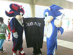 Sonic - Shadow - Death Note?