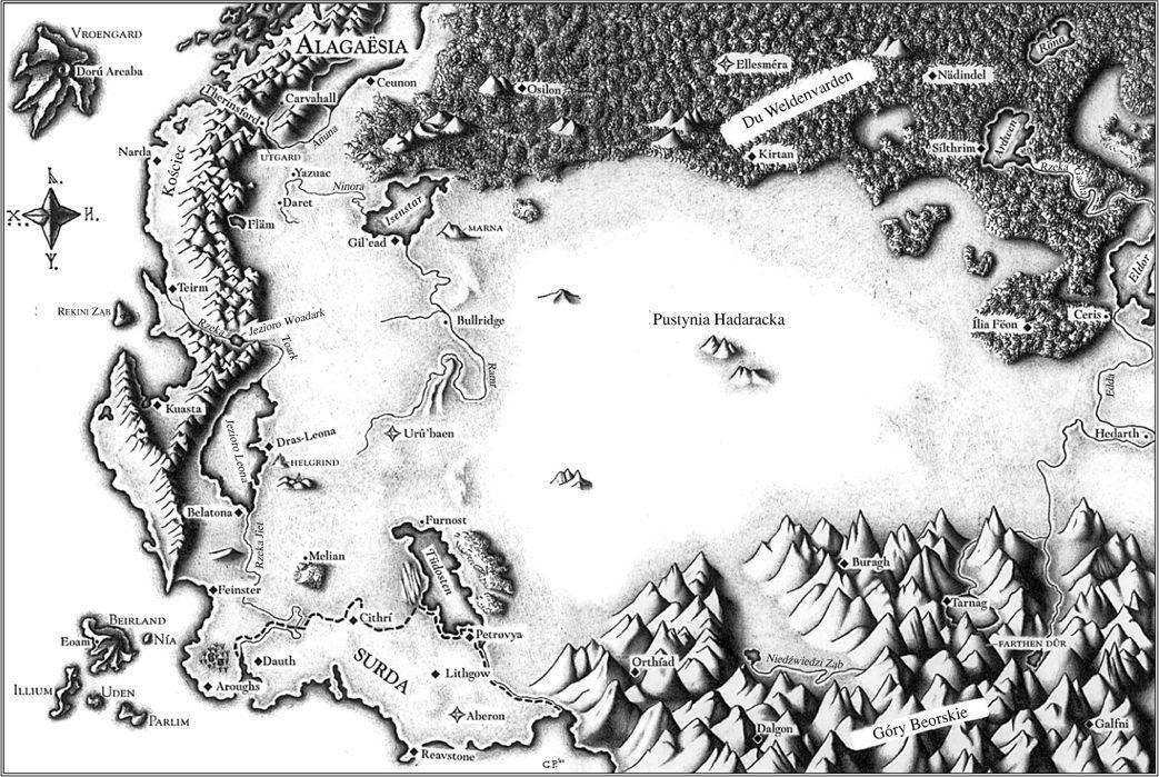 Alagaesia map by Alagaesia-fc