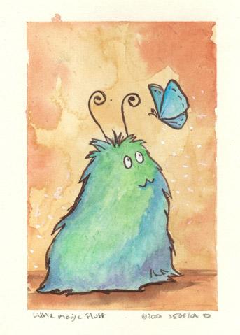 Little magic fluffle by JessicaMDouglas