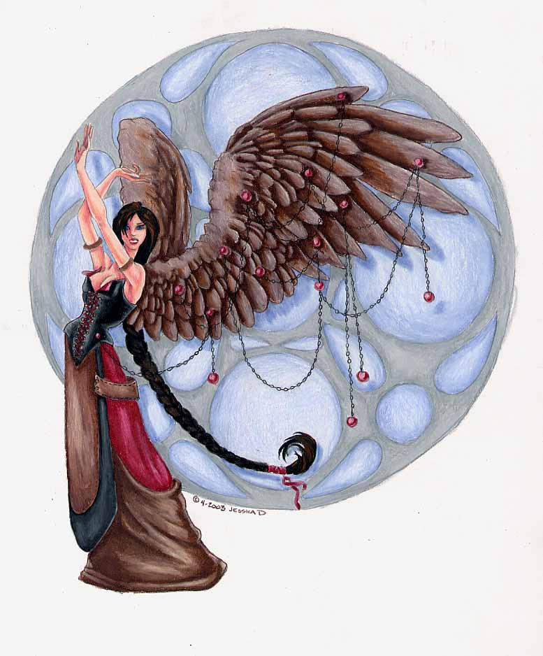 One of the 28 angels of the 28 mansions of the moon, each phase of the moon has a corresponding angel these are the In the underworld, Barbiel serves as one of the 7 .