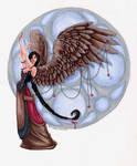 january birthstone angel