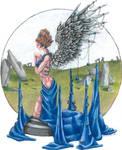 September Birthstone Angel