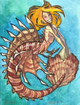 Minimermaid 4 ... lionfish