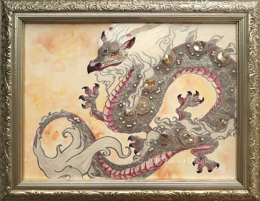 Beaded Dragon