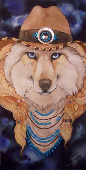 Werewolf cowgirl