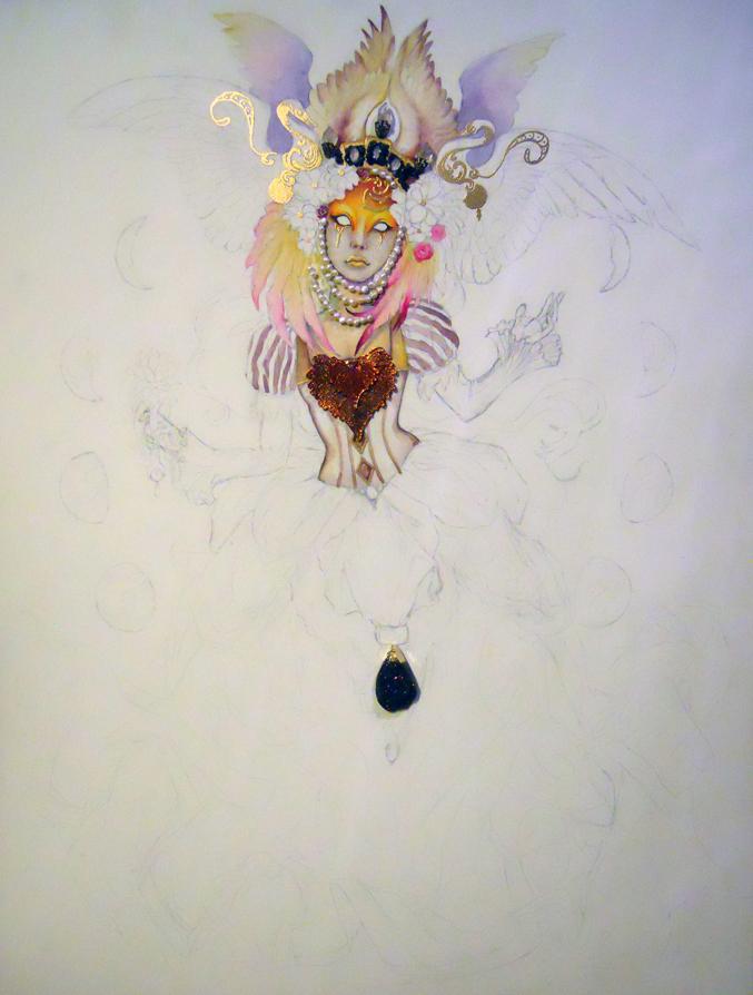 WIP: Empress by JessicaMDouglas