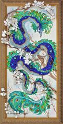 Peacock Dragon by JessicaMDouglas