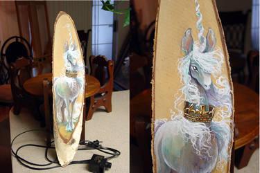 Birch Unicorn by JessicaMDouglas