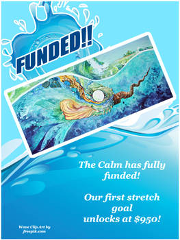 the calm has funded