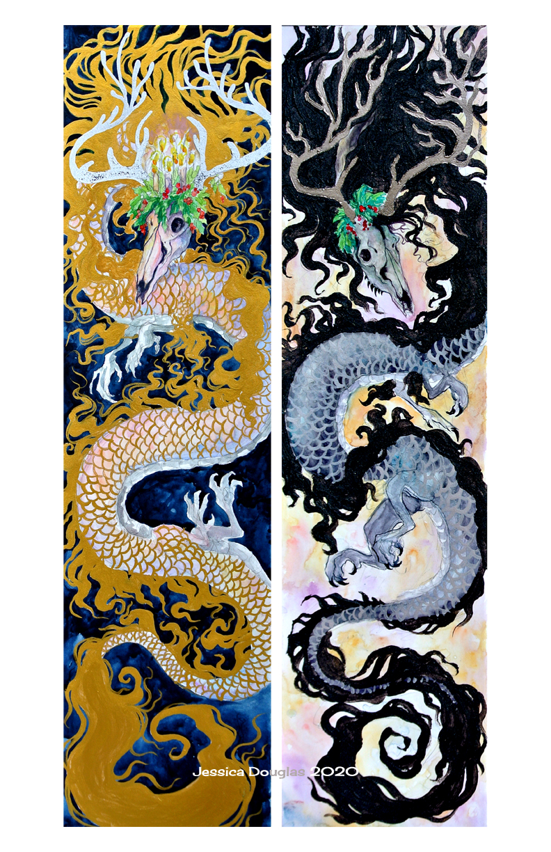 Double yule dragon
