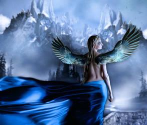 Blue Angel by svetlost70