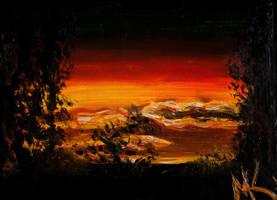 Sunset by MadKreem