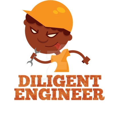 Diligent Engineer Logo Final by LeahStars8