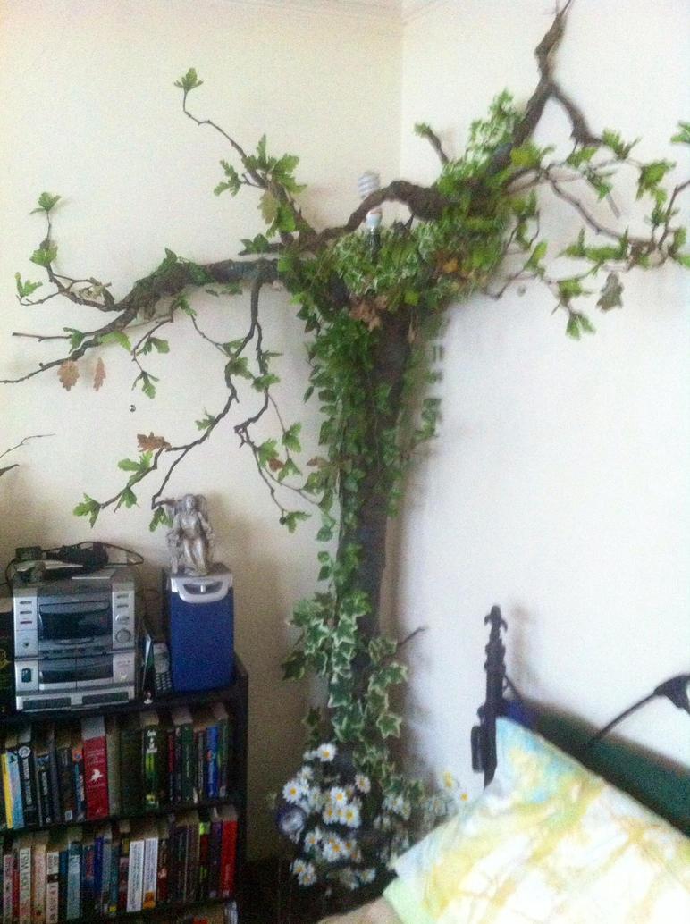 Finished Bedside Tree lamp by carlcom66