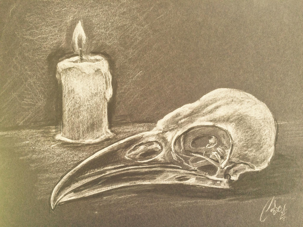 Crow drawing by carlcom66