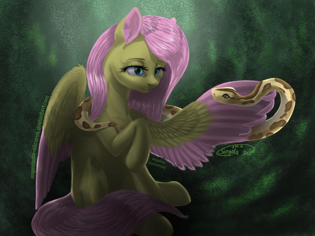 Fluttershy by AngelStudio-Alicorns