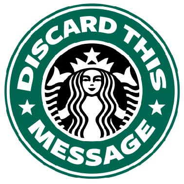 Starbucks Logo Parody by DiscardThisMessage