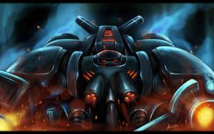 StarCraft 2 Marauder by worthart