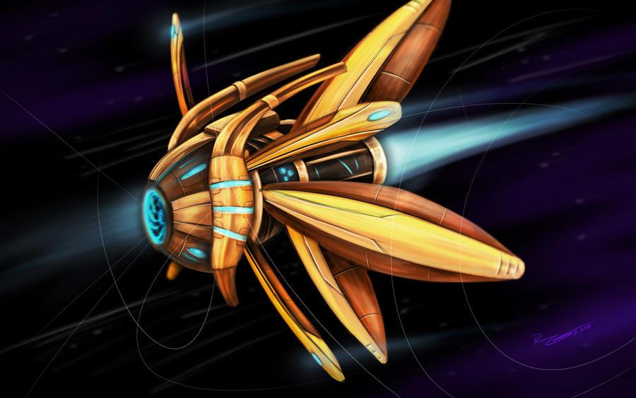 StarCraft 2 Observer by worthart