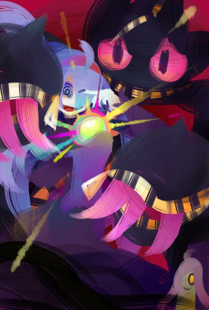 Mega banette and hex maniac by kafuka5364 on deviantart - Branette pokemon y ...