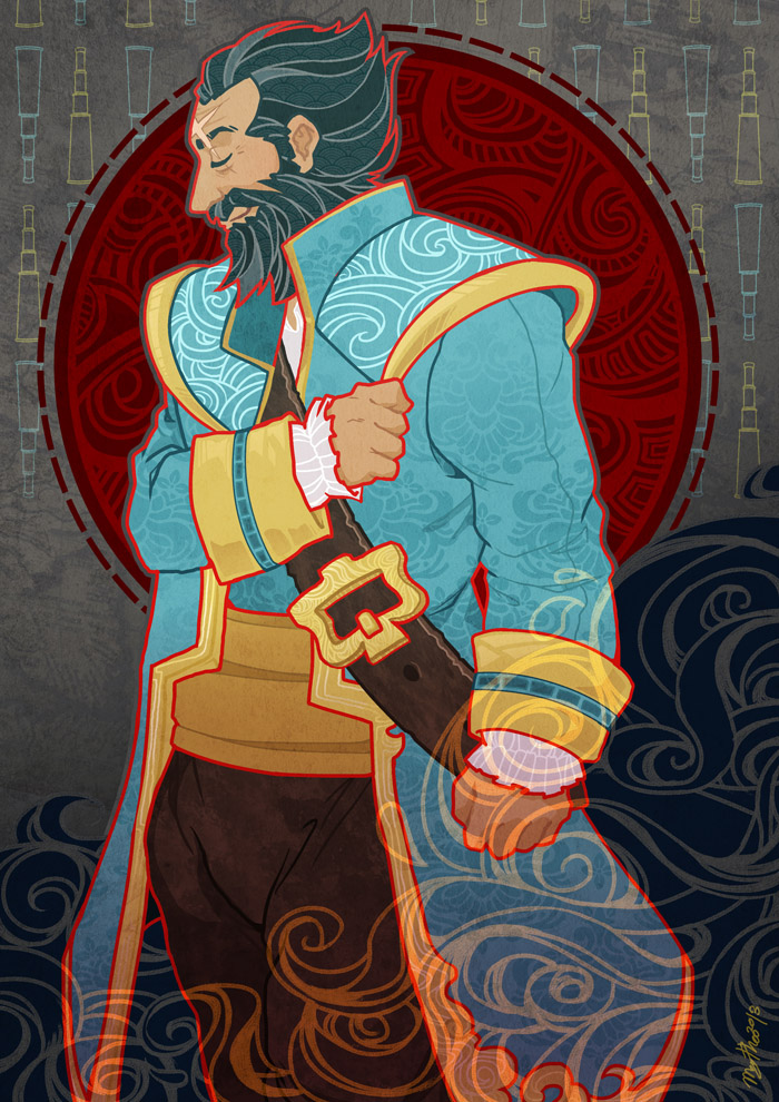 Admiral Kunkka Is My Name by cottonwings on DeviantArt