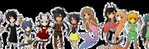 Fantasy Chibi Banner by Doominatrix