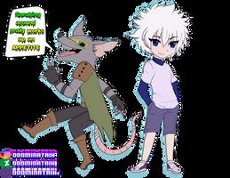 Commission: Twitch and Killua