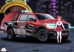 Dodge Ram - Sumi sakurasawa by Om-Wan
