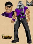 Cliff Dagger - Torch Mask