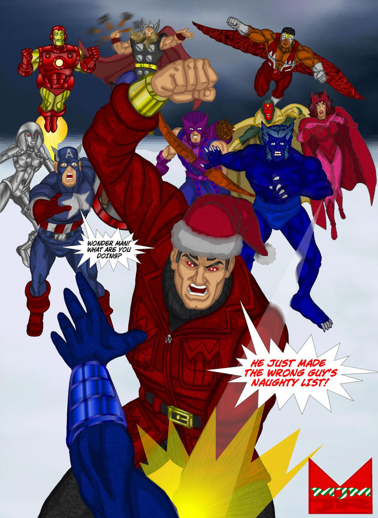 Wonder Man Christmas Card 2010 By Wondermanrules ...