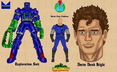 Inhumanoids - Dr. Derek Bright by wondermanrules
