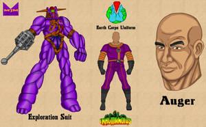 Inhumanoids - Auger by wondermanrules