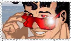 Wonder Man Stamp by wondermanrules
