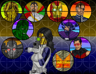 You Are All Targets by wondermanrules