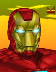 Iron Man portrait by wondermanrules